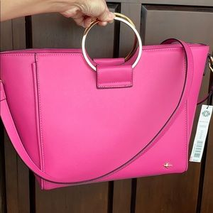 Kate Landry Pink Tote! New with tags!